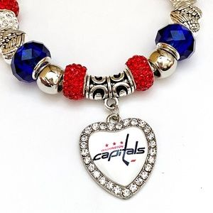 Jewelry - New Washington Capitals NHL Charm Bracelet